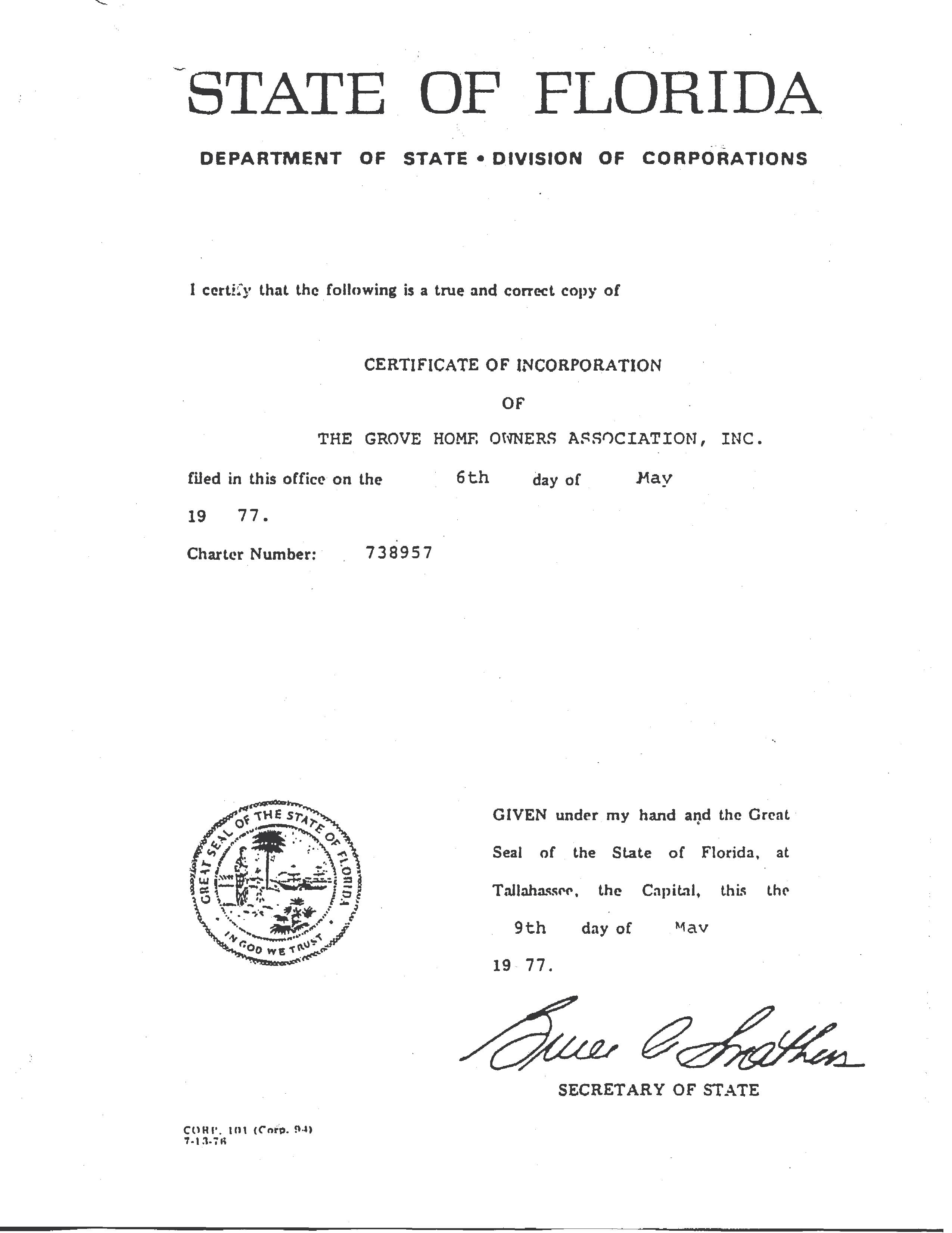 Articles of incorporation the grove homeowners association articles of incorporation altavistaventures Images